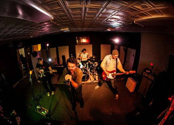 Derek (drums) and the dudes of Pure Gut